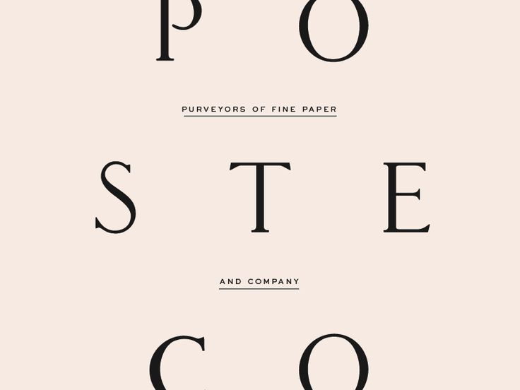 Poste & Co.  by Stitch Design Co.  #Design Popular #Dribbble #shots