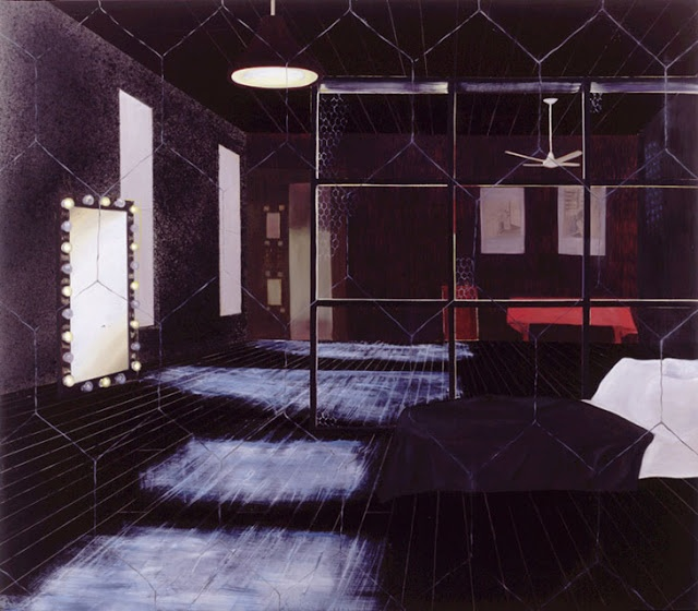 Dalwood: 1999 Robert Mapplethorpe's First Loft oil on canvas 213 x 244cm