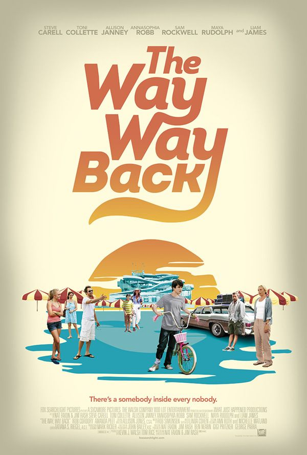 The Way Way Back. I got a bit angry in the theatre that the story was about to end. I loved it that much.