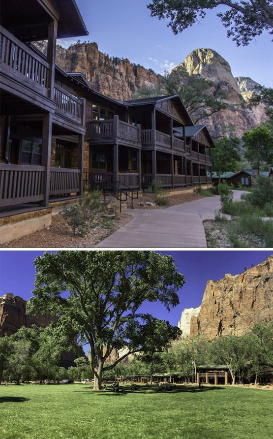 Zion National Park Lodge - Inside The Park, Springdale, Utah #affiliate