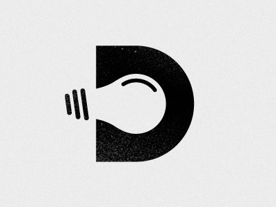 Concept. It's the letter D and a lightbulb. So there's that going for it. Idea by Ryan Ford
