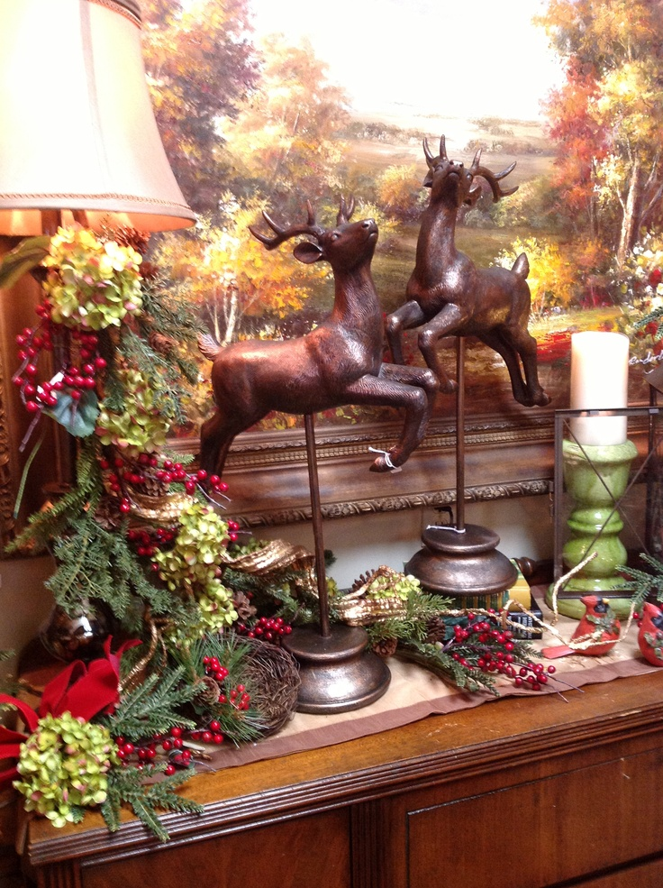 Buffet In The Country Christmas Room