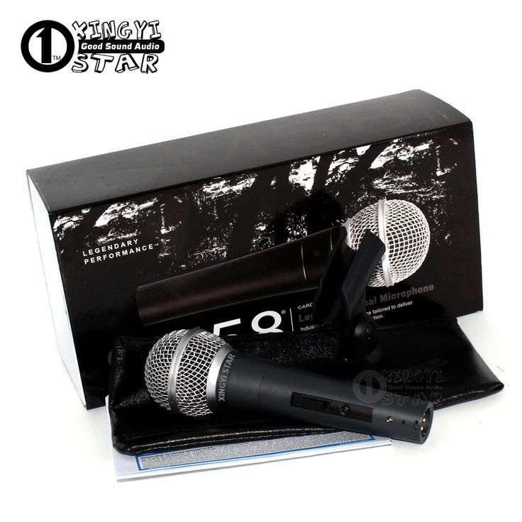 Quality SM 58 Switch Cardioid Vocal Dynamic Wired Microphone For Computer Sing Microfone Fio Microfono Professional Karaoke Mic