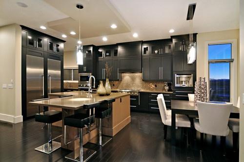 Ridge Home - modern - kitchen - calgary - Jordan Lotoski