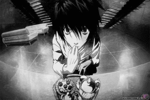 30 day anime challenge: 24: the most shocking moment: when L and Mello and freaking light BOTH end up dying