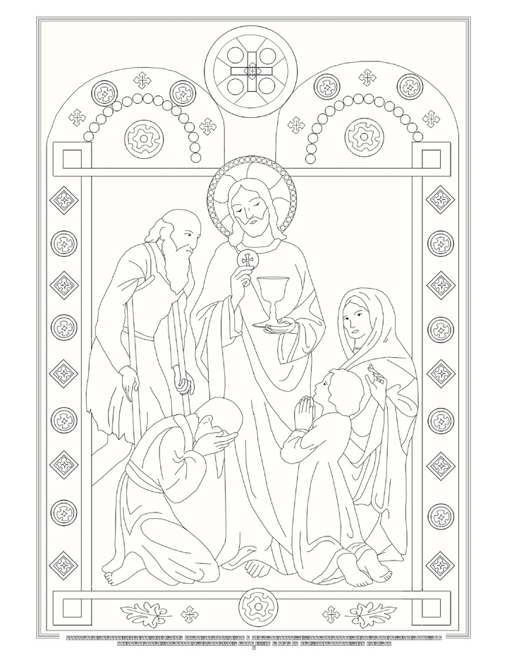 "Catholic Rosary Coloring Pages Search Results for ""..."