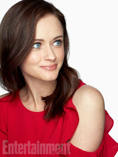 The 'Gilmore Girls' (and Guys) Are Back! Exclusive Photos of the Stars Hollow Crew | Alexis Bledel (Rory Gilmore) | EW.com