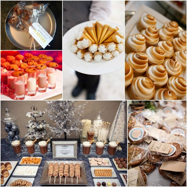 Winter wedding foods