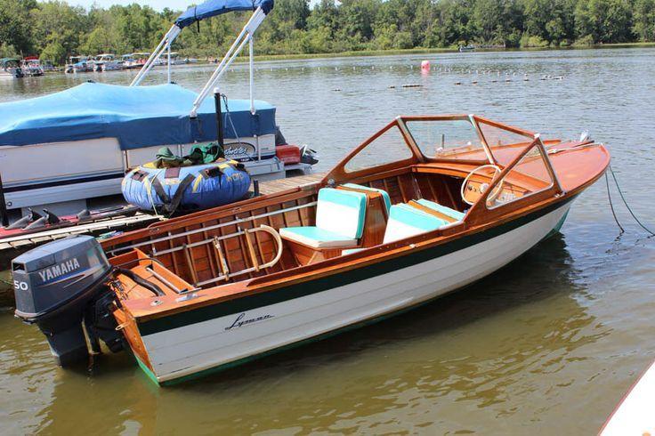 Lyman Runabout Boat
