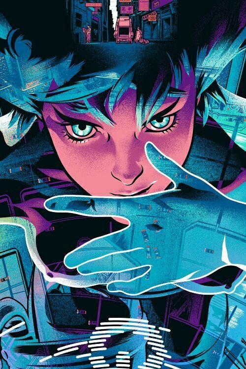 Anime Manga OVA GhostInTheShell Art Ghost in the