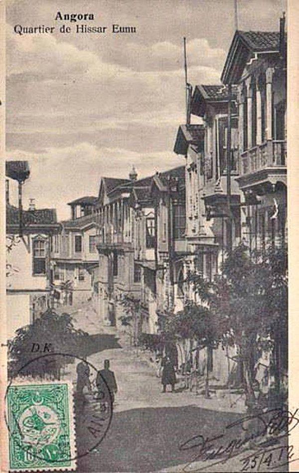 ANKARA Hisarönü Ermeni Mahallesi..