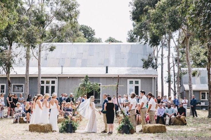 The Barn, Wallington provides the perfect backdrop for a ceremony. Photo Credit: James Looker