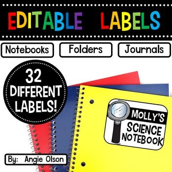 EDITABLE and completely CUSTOMIZABLE labels are key to making your classroom unique and for keeping your students organized! Gone are the days of students digging through their desks to find a specific notebook or folder! These labels will help save your students time!This Powerpoint product includes 32 pages of editable tags that are approximately 3 1/2 x 2 1/2 inches.