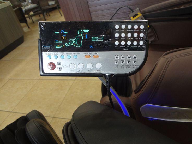 Trinity TR-70 Massage Chair Controls. For more information please visit http://www.premiumpoolandspa.ca