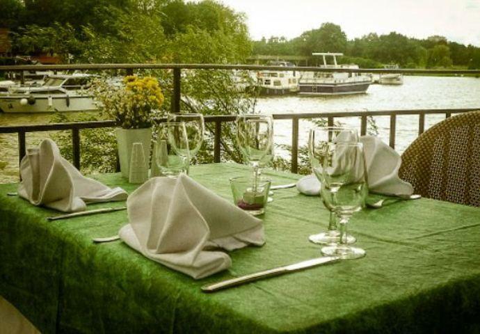 Restaurant terrasse Metz - restaurant du mini golf
