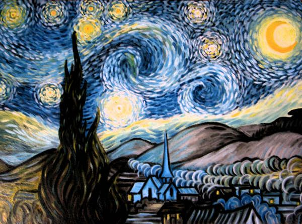 Starry Night by Giappi76.deviantart.com on @DeviantArt