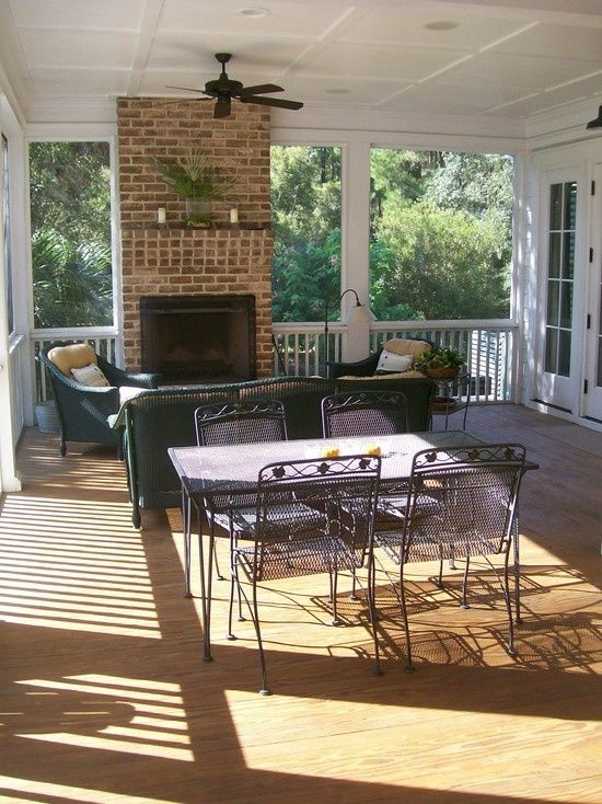 Best 25 porch fireplace ideas on pinterest house porch for Ramsey fireplace