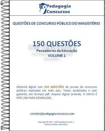 150 Questões - Coleção Pensadores da Educação