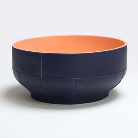 Benjamin Hubert plays with slip-casting process to create seamed ceramic tableware