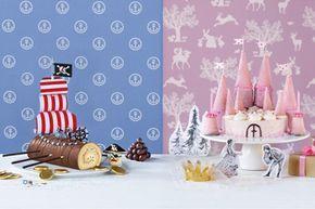 Kindergeburtstag, Torte, Feier, Pirat, Prinzessin