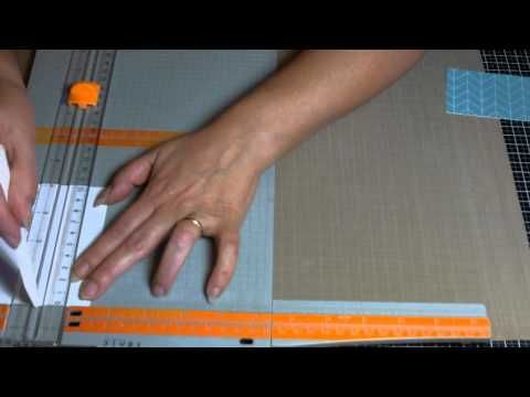 Porta Post-it da scrivania - Scrapbooking Tutorial | Scrapmary - YouTube
