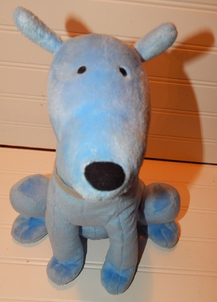 f5fc0f529e19b Kohls Cares Plush MAC Blue friend of Clifford the Big Red Dog ...