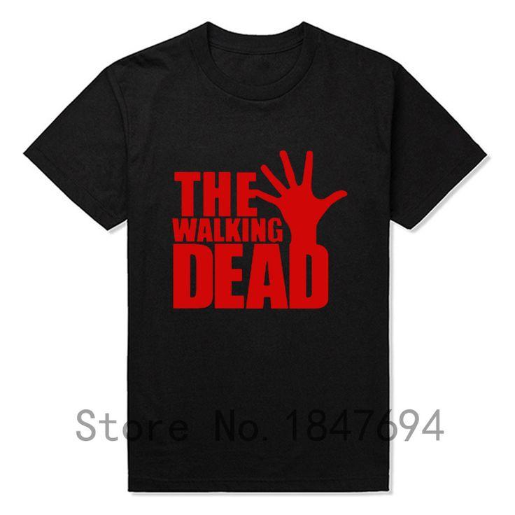 The Walking Dead T Shirts Men Short Sleeve  T-shirts Top Tees New Cotton Leisure Tshirts //Price: $16.98 & FREE Shipping //     #glenn