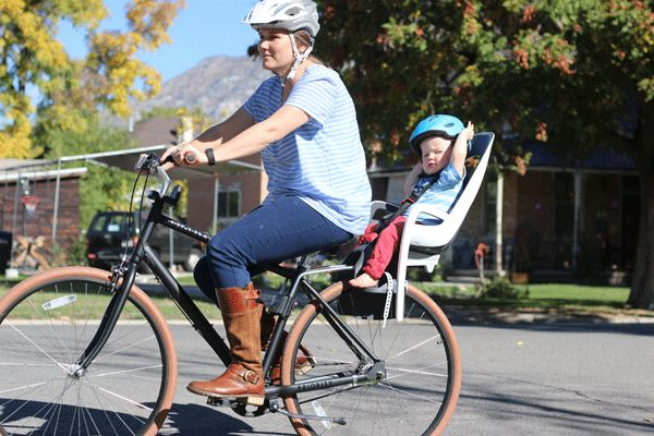 Shopping guide for child bike seats
