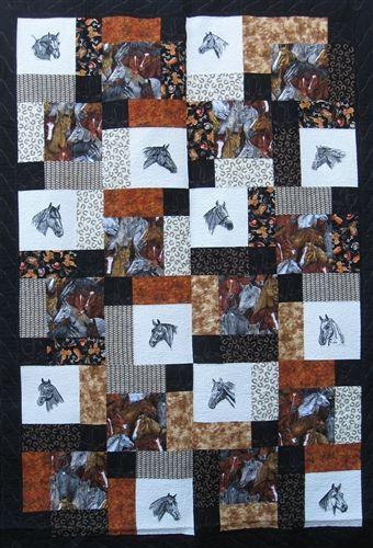 Horse Quilt Kit