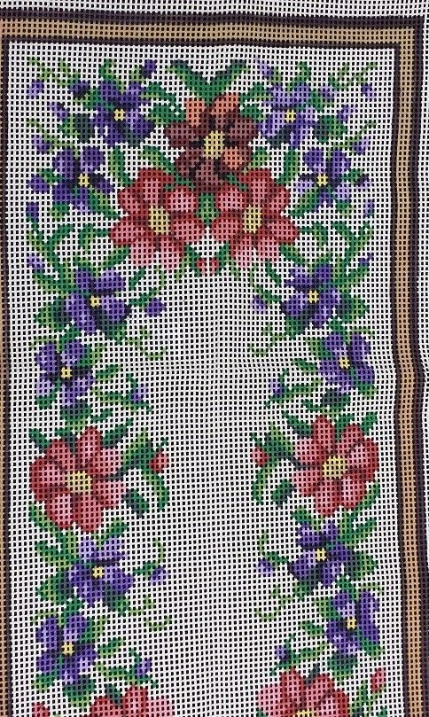Cia do Trico - Tela pintada de tapeçaria para bordar - Lojas de Armarinhos