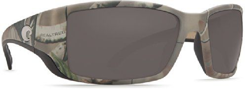 Costa Del Mar Sunglasses - Blackfin- Glass / Frame: Realtree Xtra Camo Lens: Polarized Gray Wave 580 Glass