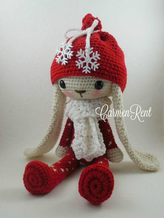 Crochet Amigurumi Bunny Toy Free Patterns Instructions ... | 755x570