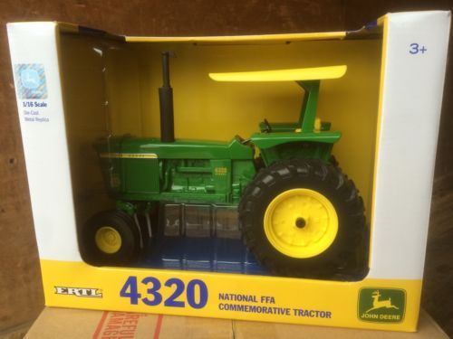 Vintage Manufacture 741: Ertl 1:16 John Deere 4320 National Ffa Commemorative Tractor -> BUY IT NOW ONLY: $59.95 on eBay!