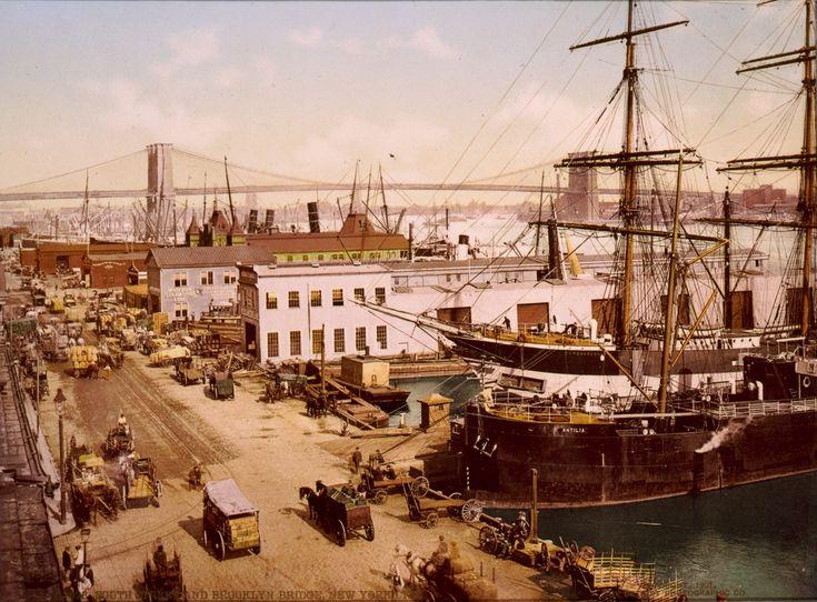 South-Street-Brooklyn-Bridge-1900-Detroit-Publishing.jpg (1240×914)