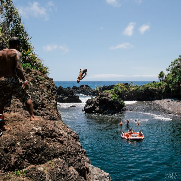 Hawaii - Secret Swimming Hole.... must find