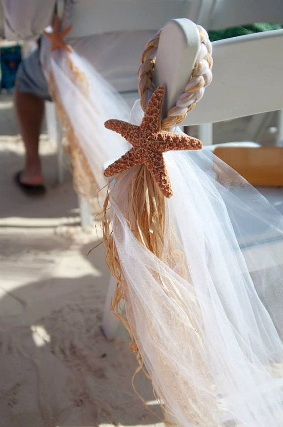 Beach Wedding, Beach Chair Hanger, OVER 20 COLORS AVAILABLE, Aisle Decor, Destination Wedding, Beach Pew…
