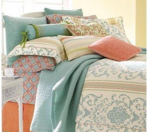 143 best Coral\\Teal\\Blue Decor♥ images on Pinterest | Bedrooms ...