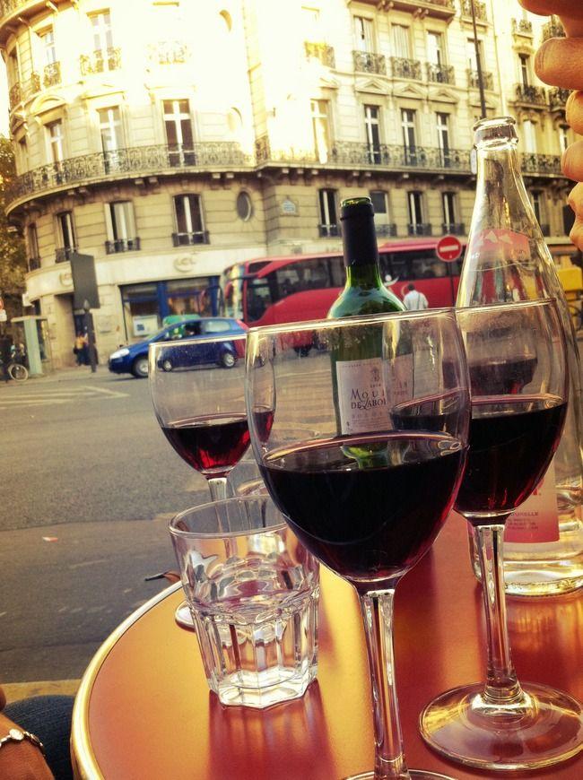 wine in Paris (photo cred: Kristi Lee Overgaard)