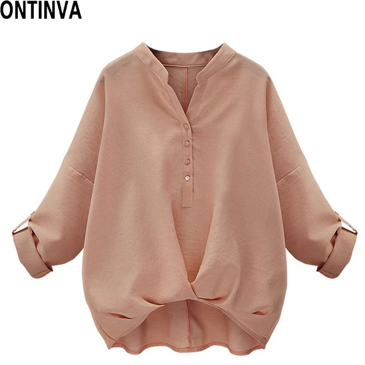 Dolman-Sleeve Tops Women Pink Ladies Blouse White Womens Blouses Office Shirts Autumn 2017 Casual Loose Shirt Femme