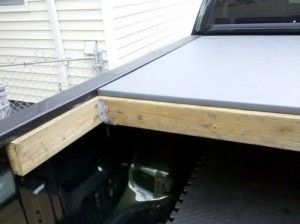 homemade truck bed cover plans