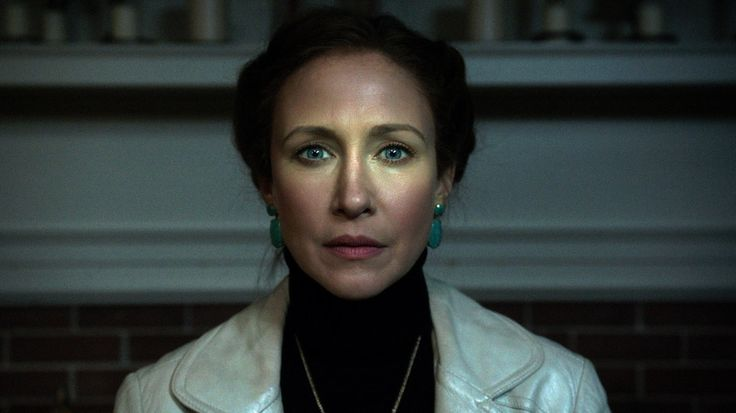 Me? Seeing The Conjuring 2 for the 3rd time cause Vera Farmiga?? ....noooo....