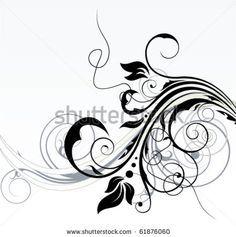 ... Tattoo Ideas on Pinterest | Swirl design Snowflake tattoos and Swirls
