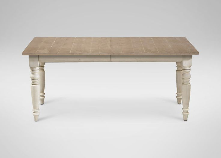 Miller Large Rustic Dining Table Rough Sawn Dakota Cotton Gray
