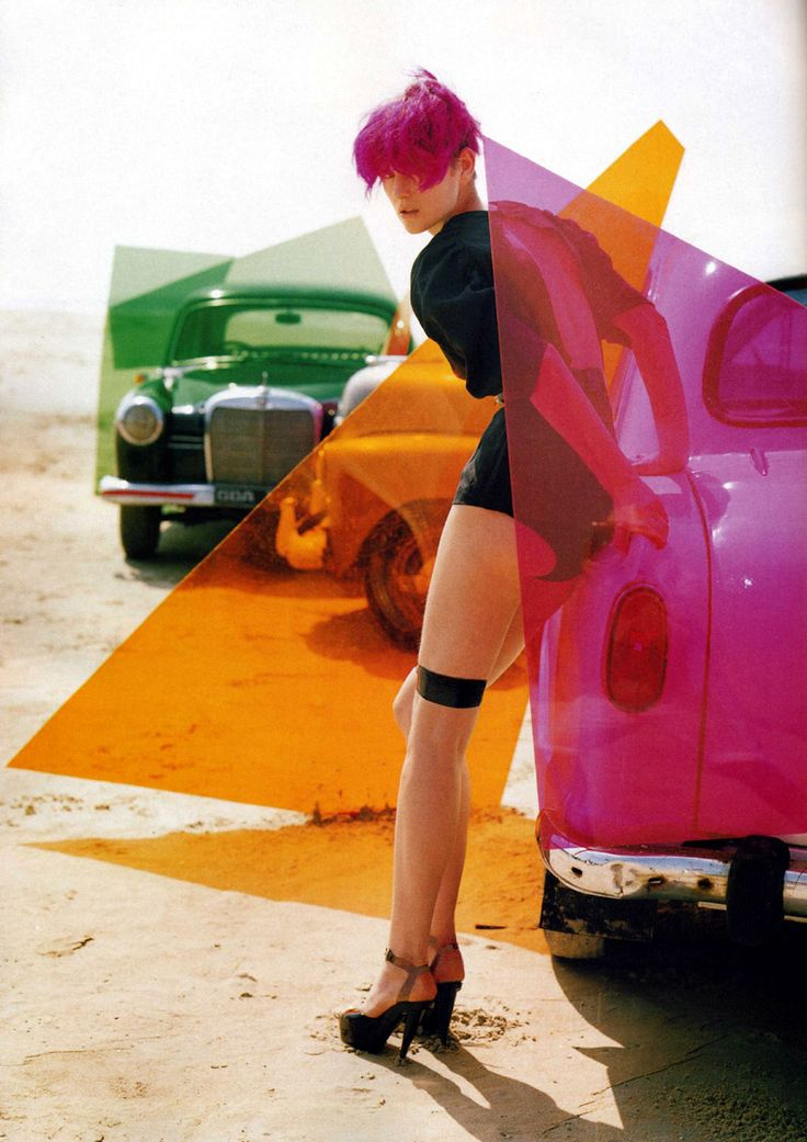 I hate it when I forget to bring my giant triangles of color to the beach in my old-fashioned car. I also hate it when I forget my pants.