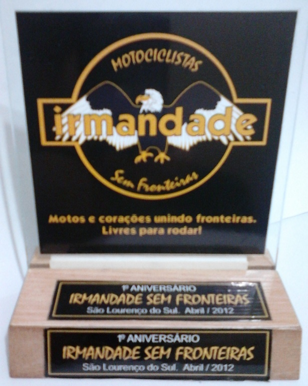 Irmandade Sem Fronteiras - Trophy 1st anniversary