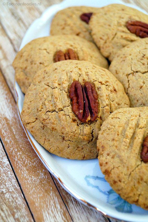 Glutenvrije boekweit koekjes met anijs en pecan
