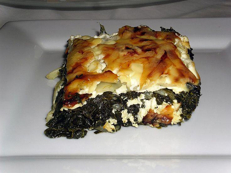 Spinat - Feta - Lasagne, ein tolles Rezept aus der Kategorie Auflauf. Bewertungen: 73. Durchschnitt: Ø 4,2.