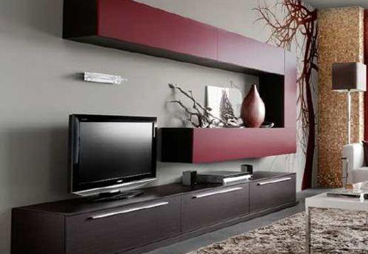 Rack modulo lcd luisiana factory muebles fabrica de for Mueble de melamina