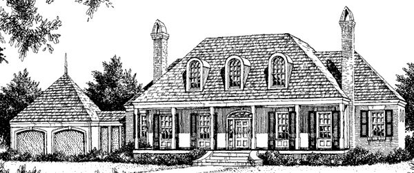 98 best house plans images on pinterest home ideas my for Southern living detached garage plans