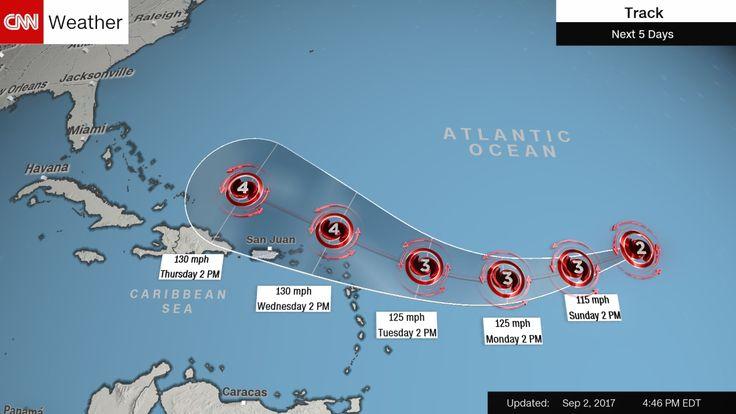 Hurricane Irma Storm Tracker. Will the Gulf Coast get hit again?
